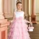 Нарядное платье из фатина для девочки