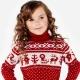 Теплый детский свитер на зиму