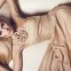 Бежевое платье: модели и с чем носить