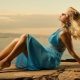 Бирюзовое платье: модели и с чем носить? (большой план)