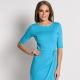Голубое платье: популярные модели и с чем носить