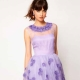 Сиреневое платье: популярные модели и с чем носить?