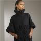 Стильное женское вязаное пальто 2017 года