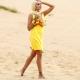 Желтый сарафан: кому пойдет и с чем носить