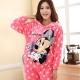 Женские теплые пижамы