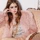 Розовая шуба – микс  женственности, шика и гламура