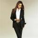 Черный костюм для женщин