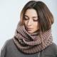 Как завязать шарф-снуд?