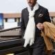 Мужские шарфы – модные тенденции 2018 года