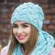 Стильный шарф с косами