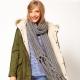 Вязаные шарфы - модные тенденции 2017 года