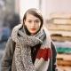 Как носить шарф-капор