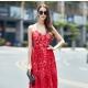 Какие туфли подойдут к красному платью?