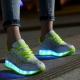 Кроссовки со светящейся подошвой для девочек