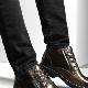 Мужские ботинки на толстой подошве
