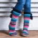 Носки-тапочки для женщин, мужчин и детей