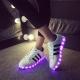 Светящиеся кроссовки – новое поколение модной обуви