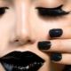 Черный макияж