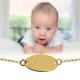 Детский золотой браслет