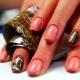 Дизайн ногтей с фольгой на гель-лак