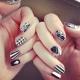 Геометрия на ногтях гель-лаком