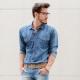 Мужской ремень для джинсов