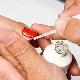 Обработка торца ногтя гель-лаком