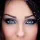 Макияж для синих глаз