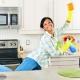 Отмываем кафель на кухне от жира