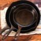 Как почистить чугунную сковороду от нагара?