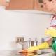 Отмываем кухню от жира