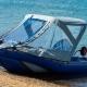 Тенты на лодки: разновидности и рекомендации по установке