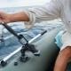 Держатели для удочек и спиннинга на лодку из ПВХ: разновидности и изготовление
