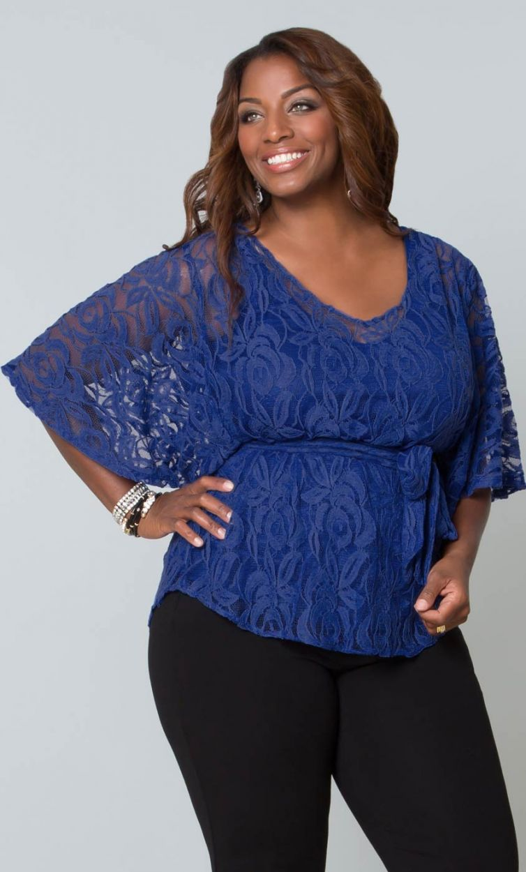 Купить Модную Блузку Для Полных