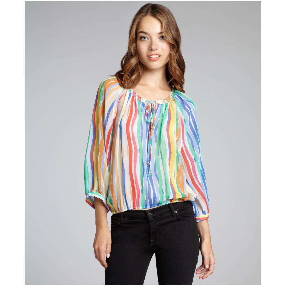 Купить Красивую Шифоновую Блузку