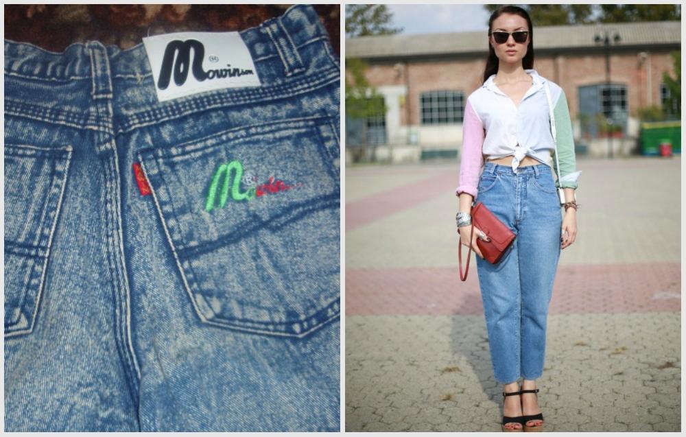 джинсы мальвины 90-х фото