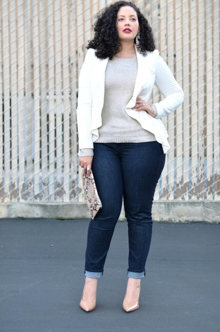 Plus size fashion skinny jeans 38