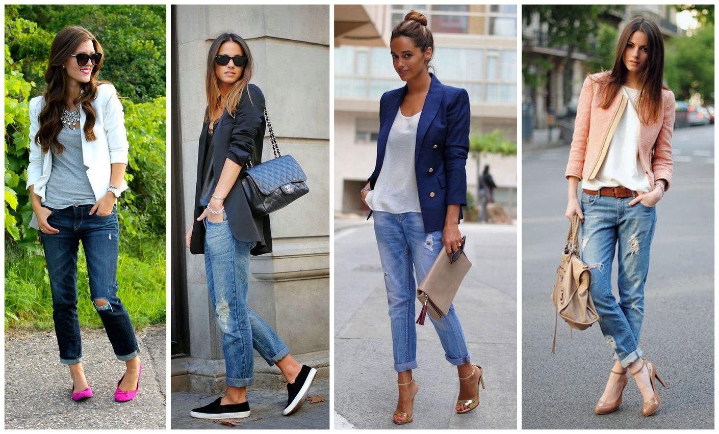 Сексуальные девушки носят джинсы плотно