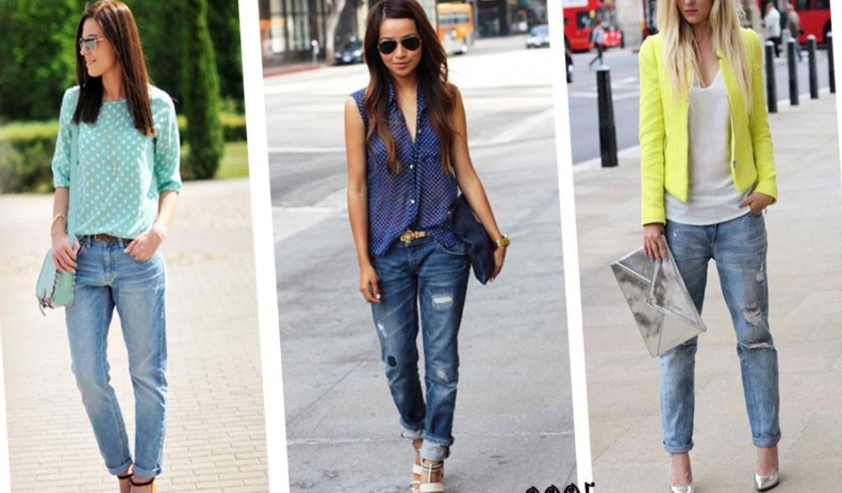 Джинсы какие модно и как носят