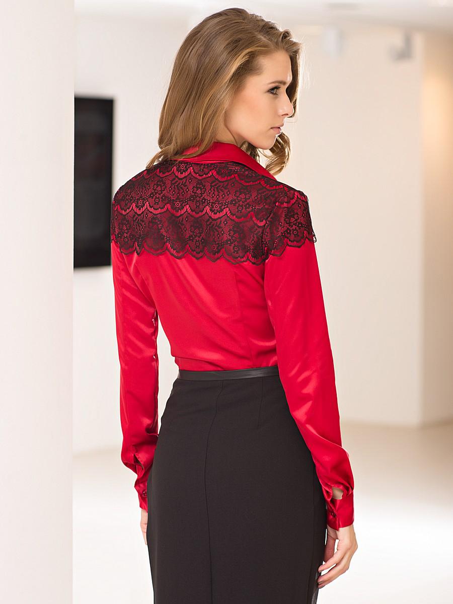 Красная Нарядная Блузка Купить