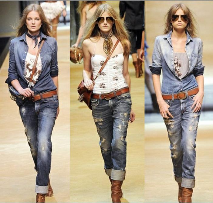 Летние джинсы для женщин (64 фото): с чем носить, тонкие и рваные, модели, модные луки и образы 2018 497