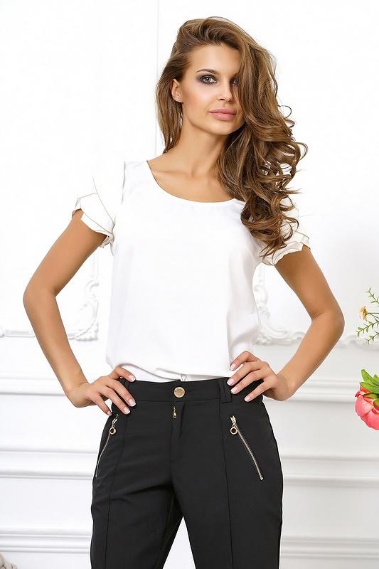 Белые Короткие Блузки