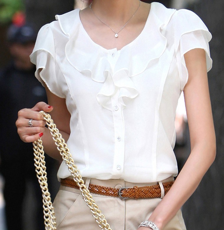 Блузки Из Шифона
