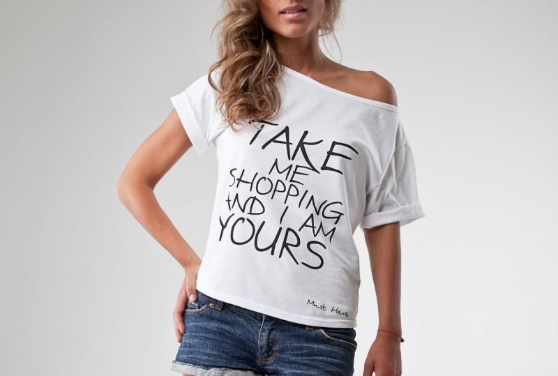 Модели женских футболок