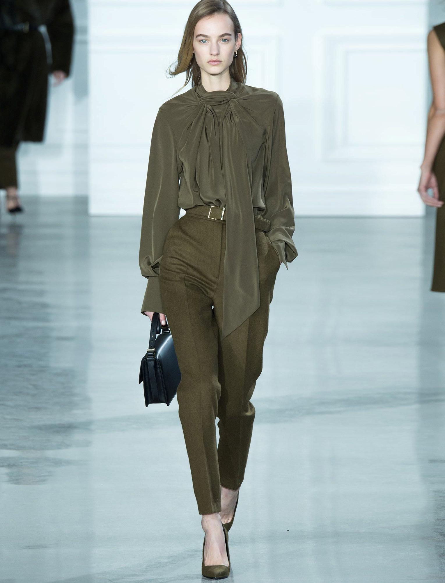 Модные Блузки Зима Осень 2015