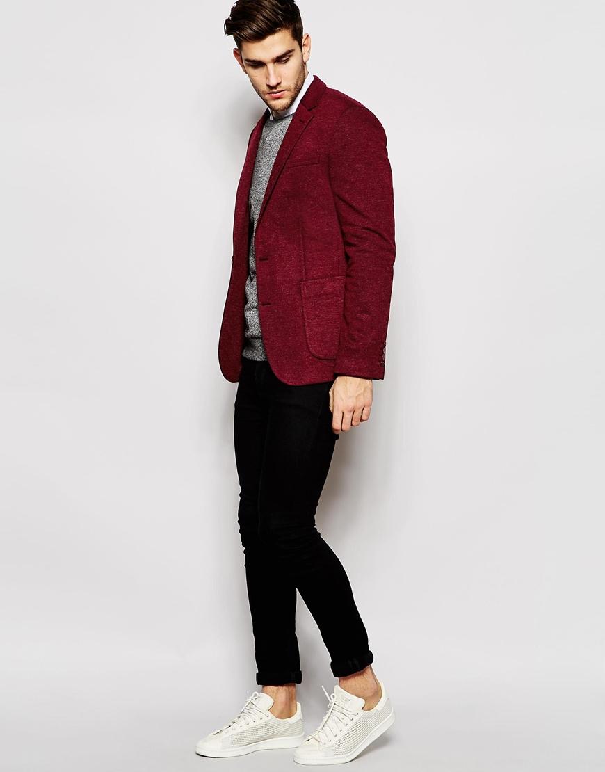 Пиджак с джемпером