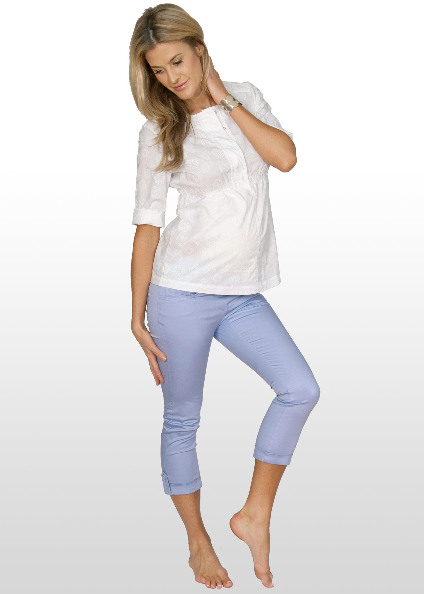 Летние брюки для беременных: выбираем и носим 246