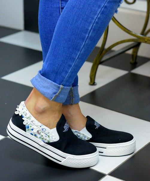 Слипы ботинки