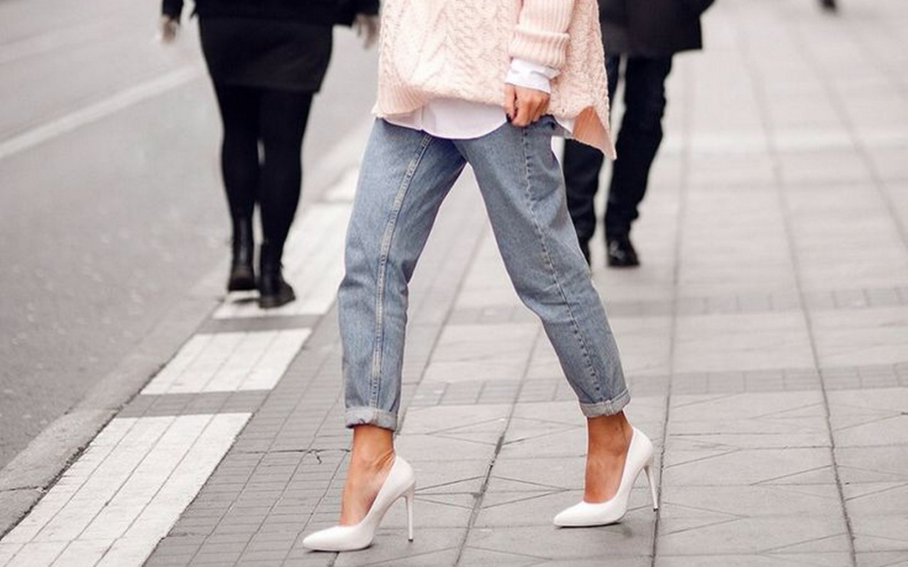 Jeans and shoes fashion 38