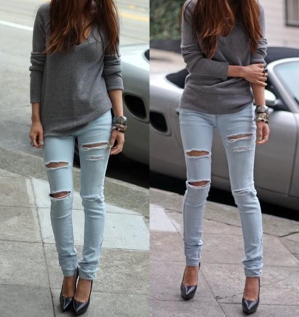 Что можно сделать с джинсами своими руками